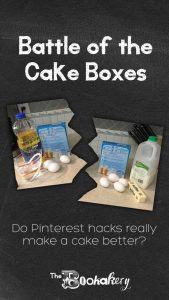 Battle of the Cake Boxes: do Pinterest hacks really make a cake better?