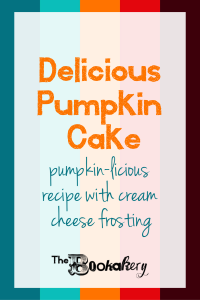 Delicious Pumpkin Cake with Cream Cheese Frosting. The perfect cake for any fall gathering (or just to eat at home by yourself, cake doesn't judge).