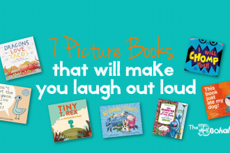 7 picture books that will make you LOL - The Bookakery