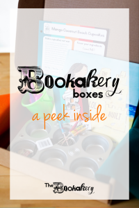 A peek inside Bookakery Boxes. Hardback picture books, kid-friendly recipe cards, activities and more! Bookish happy mail for kids!