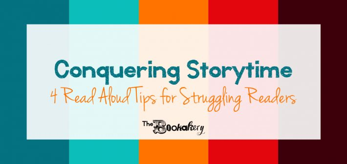 4 Read Aloud Tips for Struggling Readers. How to read aloud to your kids when reading aloud is hard to do.